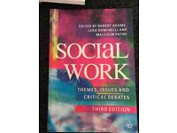 Social work:Themes Issues and Critical Debates