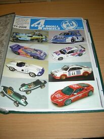 Model car magazines, Four Small Wheels a dedicated magazine for the model car collector