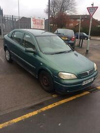 2000 X Vauxhall Astra 1.6 Club 5dr hatch **Automatic**