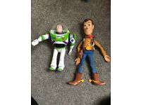 Buzz and Woody toy from toy story