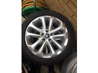 Ford Focus 17in alloys