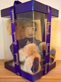 Perfect, still in box Harrods Bear 2000