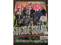 Empire magazines, Sucide Squad, Captain America, guardians