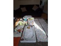 Mamas and Papas nursery bundle cot bed baby