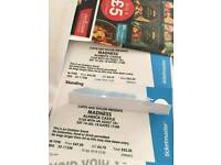 Madness tickets x2
