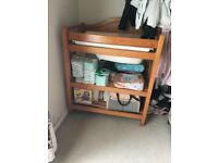 Mamas and papas pine changing table