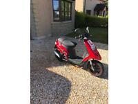 50cc Gilera storm scooter