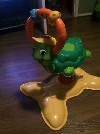 Baby bounce turtle