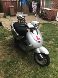 Lintex 50cc moped 12 months MOT just added.