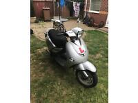 Lintex 50cc moped