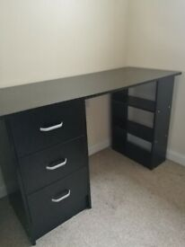 Work desk & chest of drawers