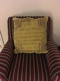 "Comfy cushion 21"" (53cm) square"