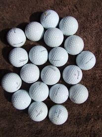 Titleist ProV1 used golf balls £5 for 4 balls