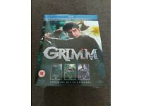 Grimm Season 1-3 Blu Ray - New & Sealed £19