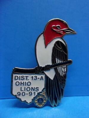 Woodpecker Bird Metal Belt Buckle