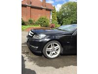 Mercedes c220 coupe amg. FSH new tyres amd discs