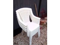 4 garden chairs for sale