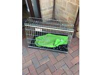 Car crate for medium dog