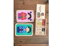 Wooden puzzles baby kids