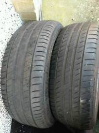 225 55 17 Michelin tyres