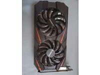 Gigabyte Nvidia GTX 1060 WF2 6GB GDDR5 PCI-E