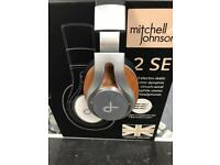 Michell and Johnson headphones