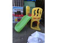 Little tikes activity slide