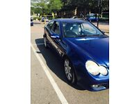 Mercedes coupe automatic c180 se face lift model 2004 mot tax