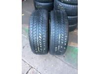 2 PW 235 60 18(107H) Bridgestone Blizzak LM-80 M+S Tread 5.0mm-6.0mm