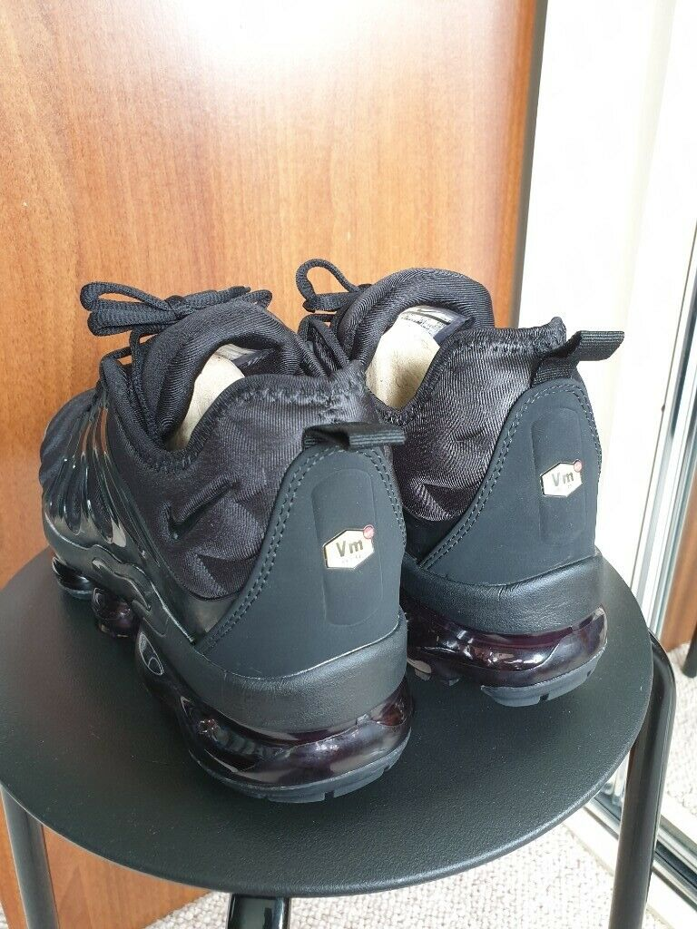quality design 84fda bd8fe Nike Air VaporMax Plus Black Trainer Men Shoe (Brand New) Size 9   in  Coventry, West Midlands   Gumtree