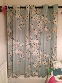 Lovely full length curtains