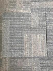 Acoustic carpet tiles brilliant condition! Office lighting an self moving lockable file cabinets !!