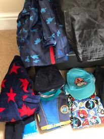 Bundle of boys clothes ages 4-6years