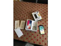 LIKE NEW Apple iPhone X 64GB Space Grey 1 MONTH OLD Boxed with Case Warranty - FACTORY UNLOCKED