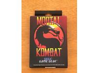 Sega Game Gear Mortal Kombat