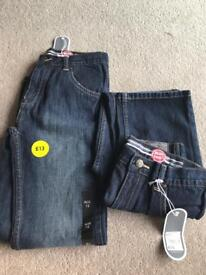 Brand new with tags boys jeans aged 12