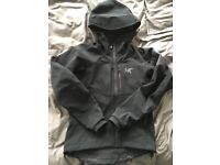 Arcteryx Gamma MX hoody in a very good condition, Black, XS