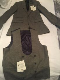ASOS Jacket and waist coat size 38 chest brand new