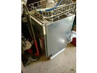 Free Integrated Dishwasher Spares or Repairs