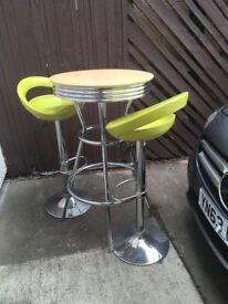 **TABLE AND CHAIRS FOR SALE, LESS THAN 12 MONTHS OLD**