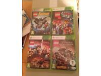 Xbox 360 Lego games