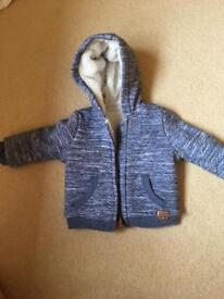 Boys fleece coat 6-9months