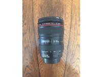 Canon L-series EF 24-105mm F/4 L IS USM Lens