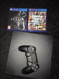 PS4 slim line