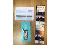 Anthony Joshua vs Wladimir Klitschko Floor Seats - 2 Tickets