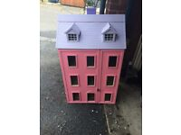 Old large dolls house