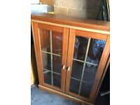 Wooden display cabinet **FREE to collect **