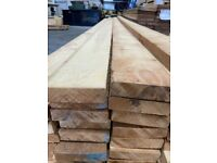 35 x Russian Sawfalling Timber Redwood 38 x 150mm x 5.4m Joinery £250 the lot