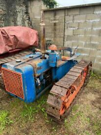 Bristol crawler tractor vintage restoration