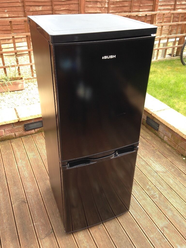bush bsff50152b fridge freezer black in hucclecote. Black Bedroom Furniture Sets. Home Design Ideas